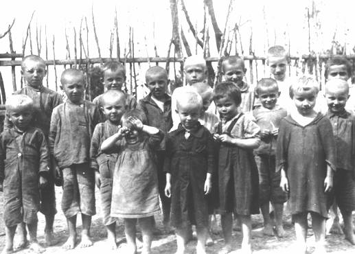 Children awaiting execution