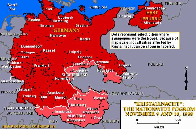 Background overview of kristallnacht jewish virtual for How many homes were destroyed in germany in ww2