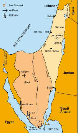Eilat - Map of egypt red sea area