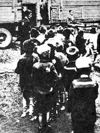 children of lodz being sent to chelmno