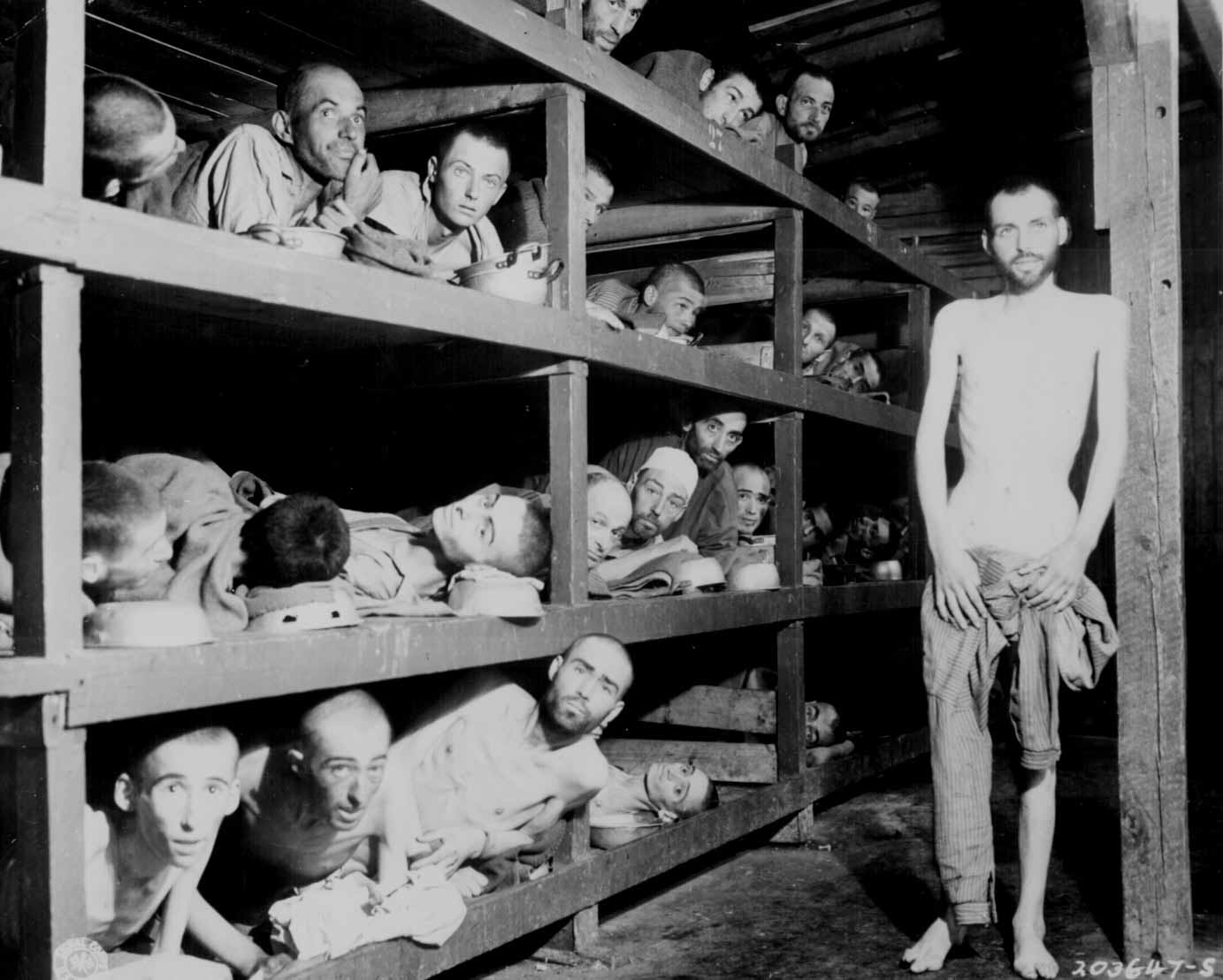 Former Prisoners Of The Little Camp In Buchenwald