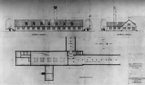 The construction of crematoria at auschwitz for Auschwitz chambre a gaz