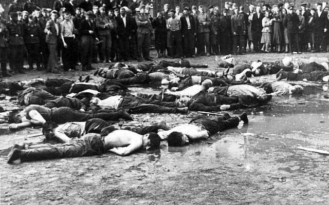 victims of a massacre in Kovno
