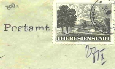 theresienstadt stamp