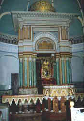 inside of Torat HaKodesh  synagouge