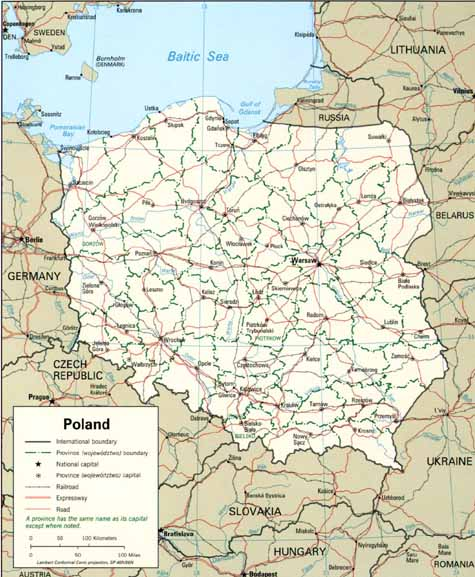 Poland Virtual Jewish History Tour - Germany map middle ages