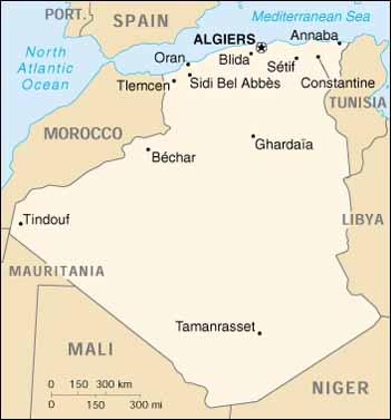 Algeria Location On World Map.Algeria Virtual Jewish History Tour