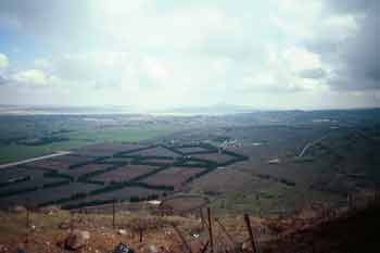 View from Mount Bental