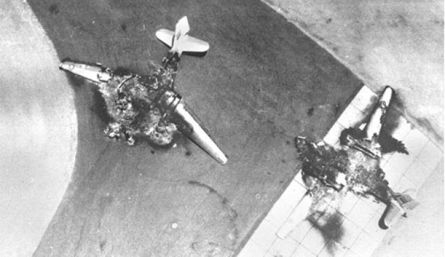 Egyptian Planes Destroyed In The 1967 War