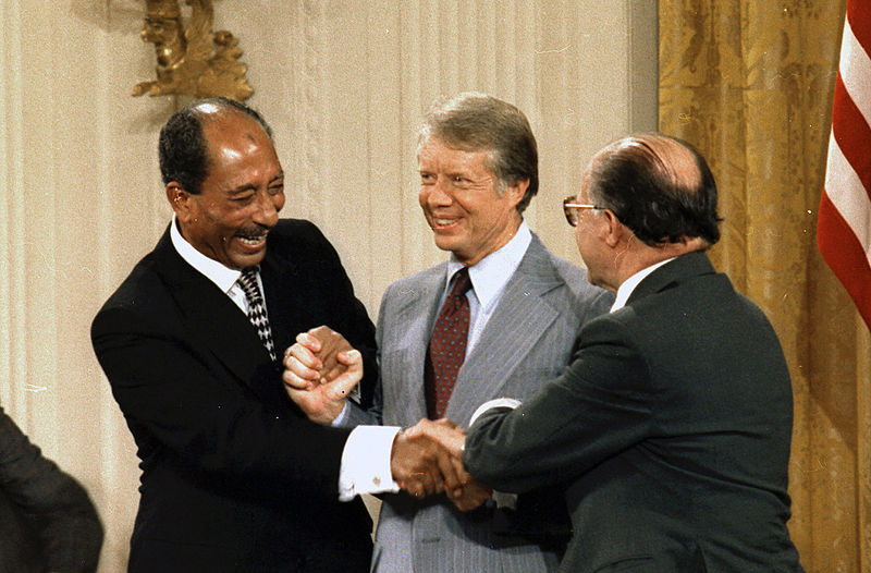 Signing of the Camp David Accords