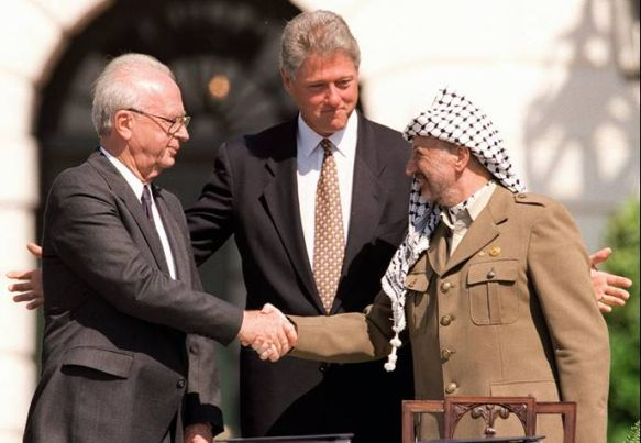Signing of the Oslo Accords
