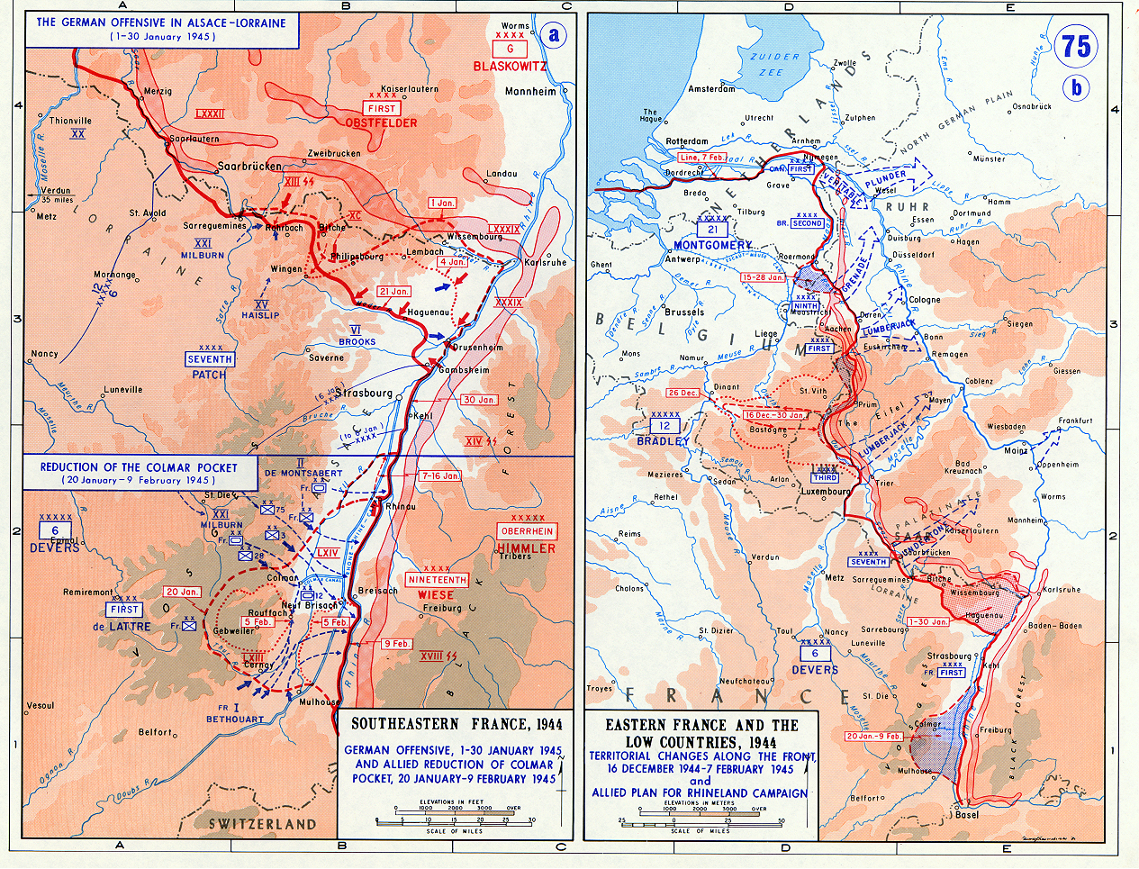germany the nazis maps german offensive in alsace lorraine