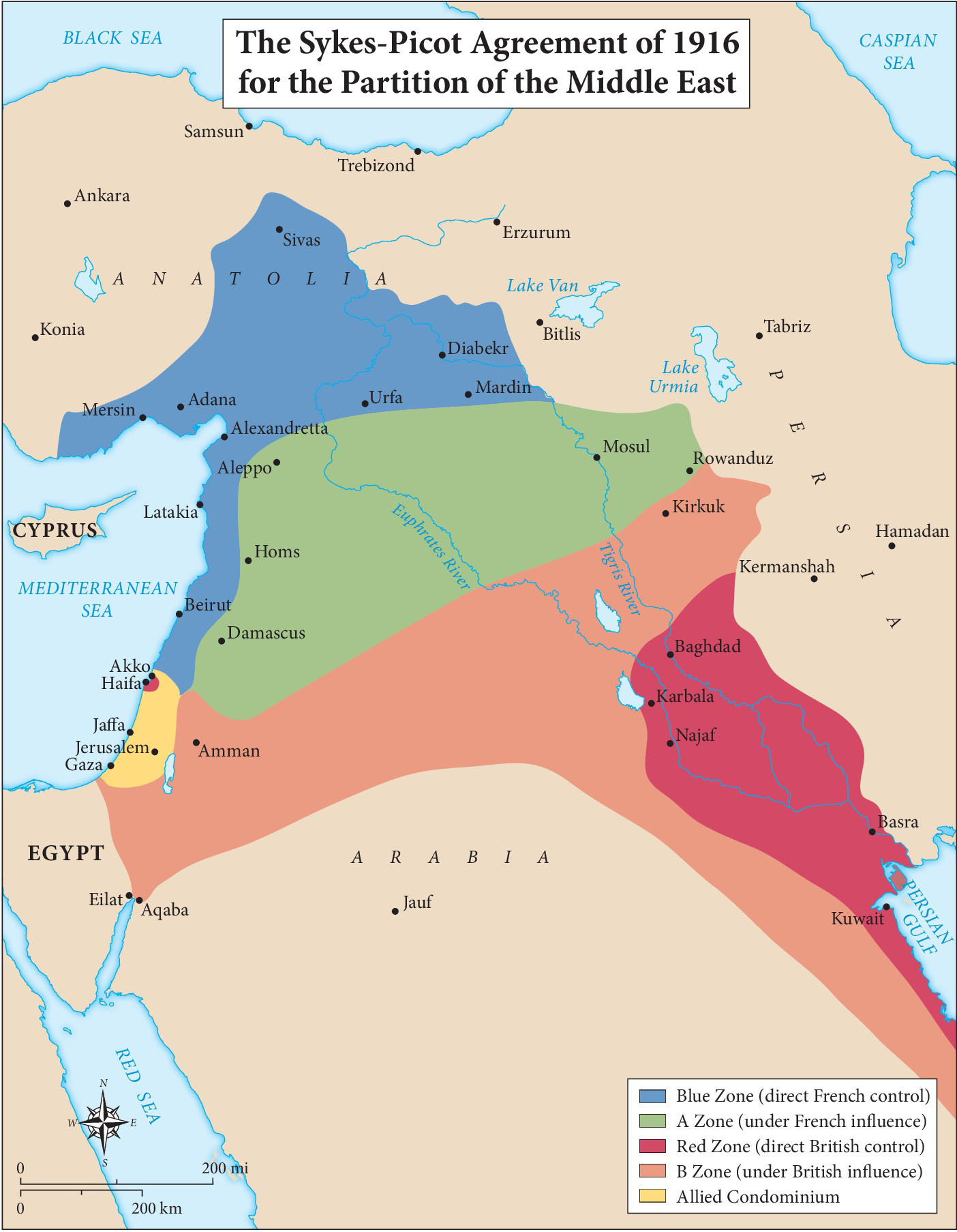 the sykes picot agreement of 1916 Sykes-picot agreement, 1916introductionthe sykes-picot agreement (1916) was a secret wartime treaty between britain and france it was named after its chief negotiators, mark sykes of britain and georges picot of france.