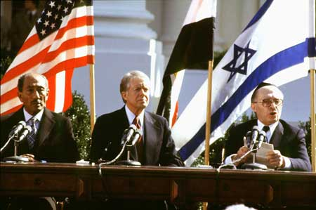 Image result for the camp david treaty signed in 1979